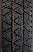 Tyre tread close up - stock photo