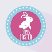 Stock Illustration of happy easter design, vector illustration eps10 graphic