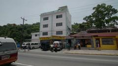 Jamaican Street Stock Footage