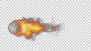 Stock Video Footage of Fireball alpha channel transparent