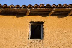 Window in Adobe House Stock Photos
