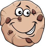 Stock Illustration of cookie cartoon illustration