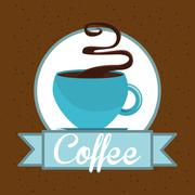Stock Illustration of delicious coffee design, vector illustration eps10 graphic