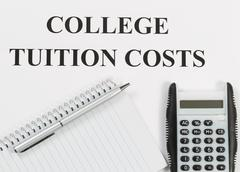 Preparing for Education Costs - stock photo