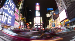 NY Time Square Part 2 Stock Footage