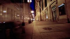 Pan Left LaSalle 2 Stock Footage