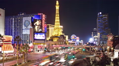 Las Vegas Strip 14 Stock Footage