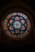 Cistercian monastery Heiligenkreuz - interior - stock photo