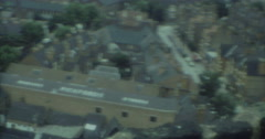 Blackpool City View 70s Pickfords 16mm Stock Footage