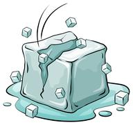 Stock Illustration of An ice cube