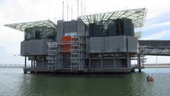 HD: Lisbon Oceanarium Stock Footage