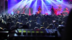 Party Night, Dance, Concert Stock Footage