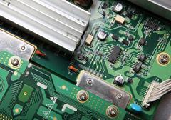 Computer hardware Stock Photos