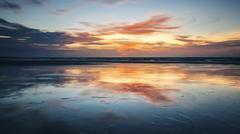 Stock Photo of sunset background