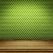 Green floor Stock Illustration