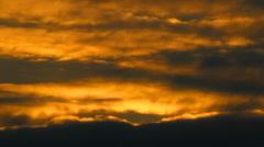 drama sunset - stock footage