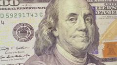 100 dollar bill money Stock Footage
