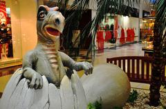 Dino Park - stock photo