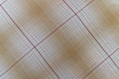 Fabric plaid texture. Cloth background Stock Photos