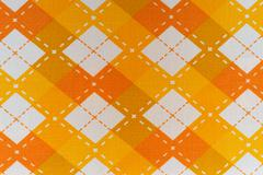 Fabric plaid texture. Cloth and collars background Stock Photos