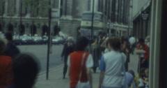 Blackpool London Woolwich Equitable Uk 70s Street Scene 16mm Stock Footage