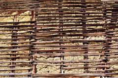 Traditional old brick wall Stock Photos