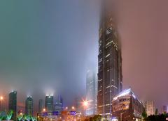 Shanghai, China, Pudong District, Jin Mao Tower - stock photo