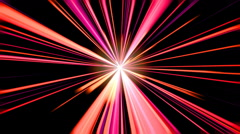 Abstract motion background, light streaks moving Stock Footage