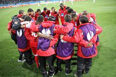 SC Braga players Stock Photos
