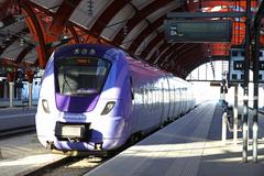 Central railway station in Malmo, Sweden Stock Photos