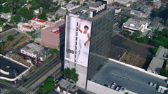 Whitney Houston Billboard Stock Footage