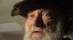Ax Murdered, wildman - stock footage