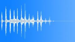 Cartoon trembling duck - sound effect