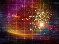 Particle Design - stock illustration