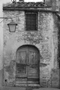 Typical Village of San Gimignano Stock Photos