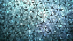 Glowing mosaic abstract background animation. 4K Stock Footage