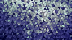 Glowing Mosaic Background Stock Footage
