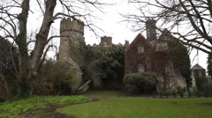 Irish Castle House Stock Footage