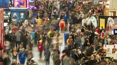 Trade Show Floor - stock footage