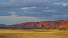 Storm Clouds Timelapse Over Vermilion Cliffs, Arizona Stock Footage