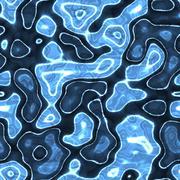Blue seamless melt glass metal texture - stock illustration