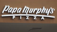 Papa Murphy's Pizza Parlor Stock Footage