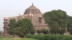 Purana Qila (Old Fort) in Delhi, India Stock Footage