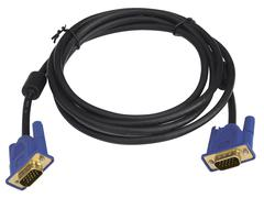 VGA cable coiled Stock Photos