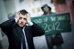 End of the world Stock Photos