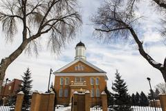 Vernal Utah Temple - stock photo