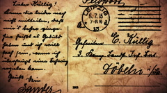 Strobe vintage Postal Cards - LoopNeo VJ Loops HD 1920X1080 Stock Footage