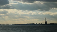 Statue of Liberty 4K Stock Footage