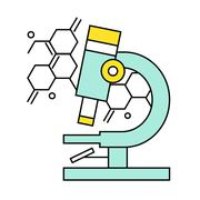 Research and Science Harmony series icons Stock Illustration