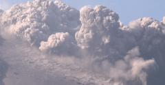 Amazing Explosive Volcanic Eruption Rare Footage Stock Footage